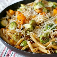 Brown Butter Penne with Fall Veggies