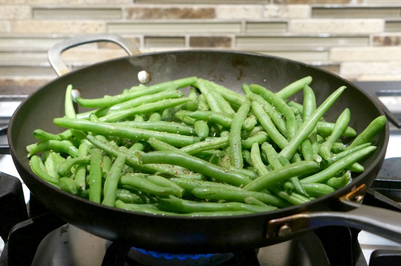 My Favorite Brown Butter Green Beans recipe has been in my weekly menu plan for years!  With just three ingredients, it's simple to cook but fancy enough for your holiday meal.