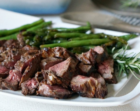 Grilled Soy Pepper Beef Tenderloin is the perfect centerpiece of your holiday meal.  Grilling meat for your Christmas dinner means more room in the oven for your favorite side dishes!