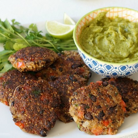 Our recipe for Freezer-Friendly Homemade Black Bean Quinoa Patties helps make your resolutions to eat better this year easier than ever.