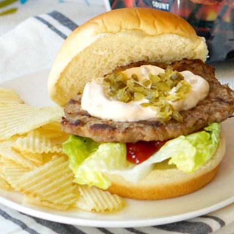 Magic Sauce Burgers. Easy burger bar party tips. Everything you need for an easy and casual outdoor BBQ.