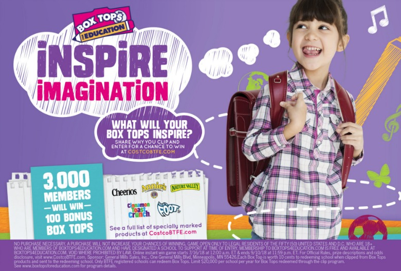 Box Tops for Education - Forks and Folly