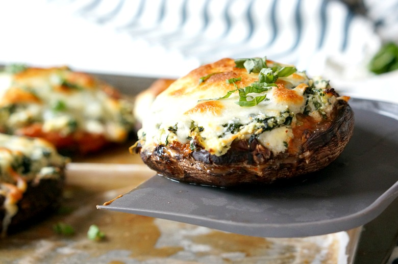 Make and serve, or freeze these stuffed lasagna portobellos for a lower-carb version of this classic comfort food dish. Mix and match your favorite lasagna ingredients to make this stuffed mushroom dish your own.