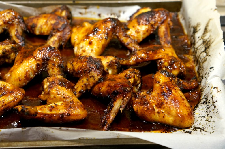 You'll have fans of your own when you cook up these Rum & Coke chicken wings. Touchdown indeed.