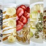 5 Wake-Up Worthy Mix & Match Greek Yogurt Bowls