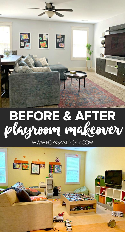 Grownup Playroom Makeover