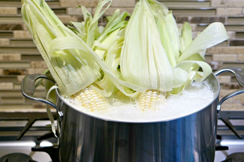 Sure, you've cooked brats in beer. But what about corn? You've gotta try this Beer Poached Grilled Corn recipe the next time you grill out this summer!