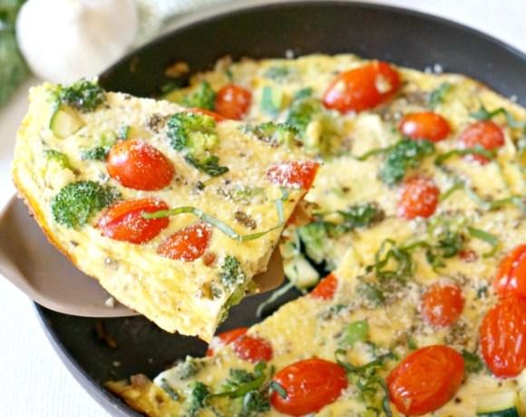 Veggie Frittata Recipe for New Cooks
