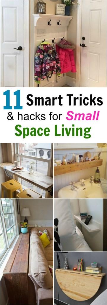 11 Smart Tricks for Small Space Living - Forks \'n\' Flip Flops