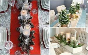 8 DIY Christmas Table Decoration Ideas