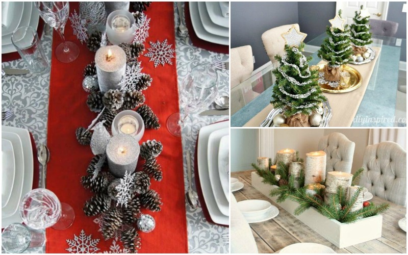 & 8 DIY Christmas Table Decoration Ideas - Forks u0027nu0027 Flip Flops