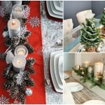 8 DIY Christmas Table Decoration Ideas