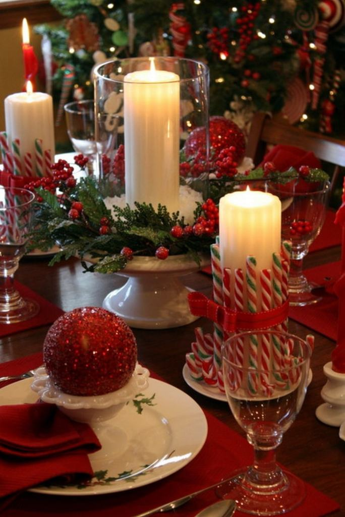 diy-christmas-table-decoration-ideas-everything-red
