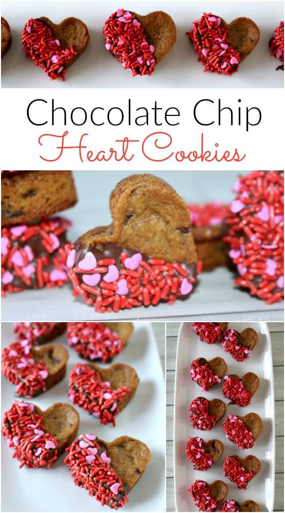 Chocolate-Chip-Heart-Cookies