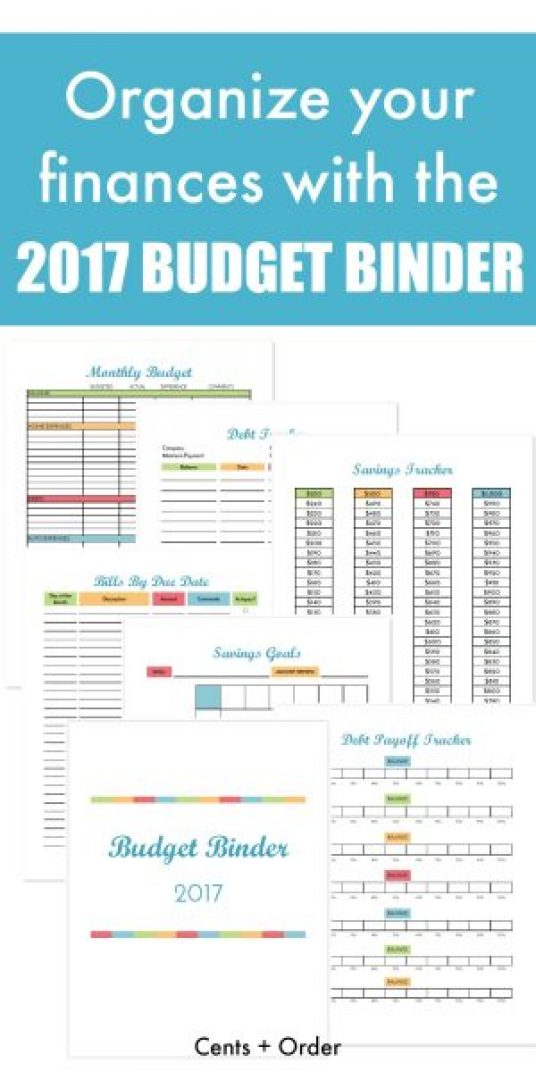 10 Free and Brilliant Budget Printables to Organize Your ...