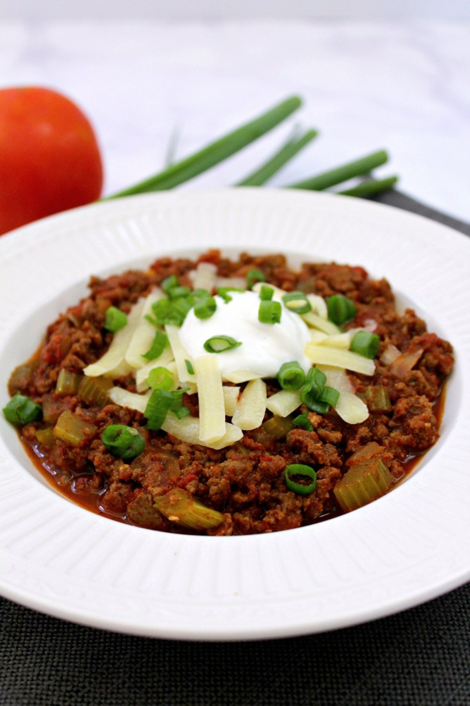 Low Carb No Bean Chili