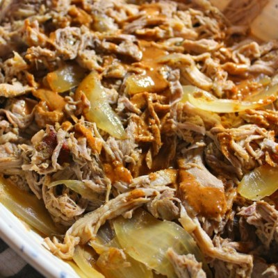 Slow Cooker Carolina Pulled Pork