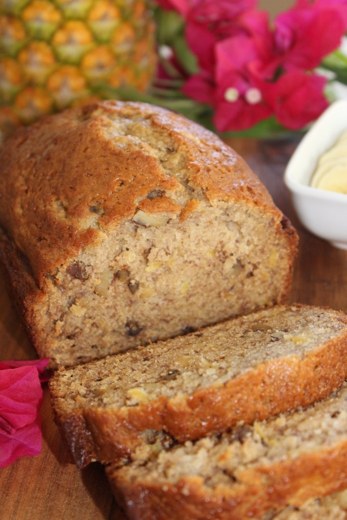 Hawaiian Pineapple Banana Nut Bread