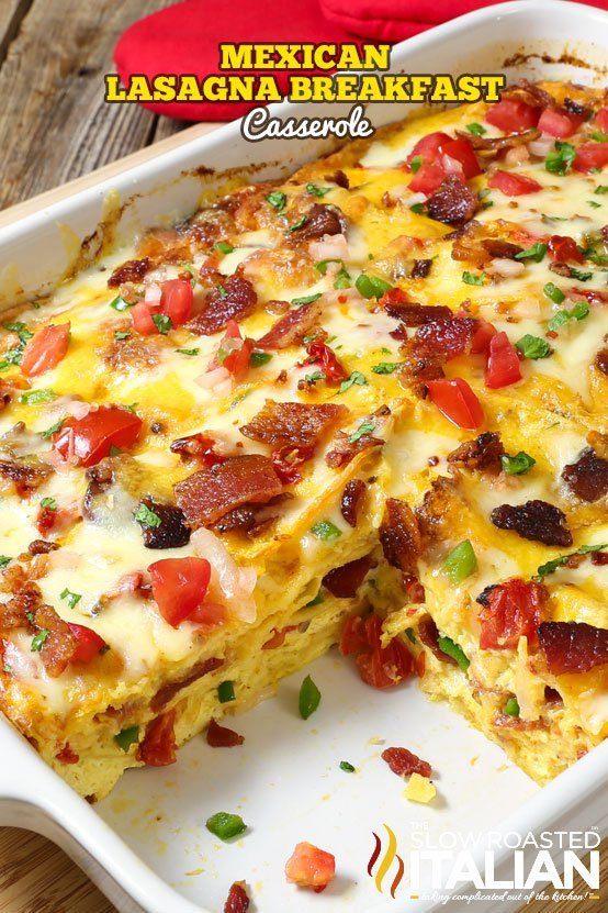 Mexican-Lasagna-Breakfast-Casserole