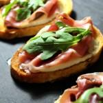 Prosciutto Mozzarella Bruschetta