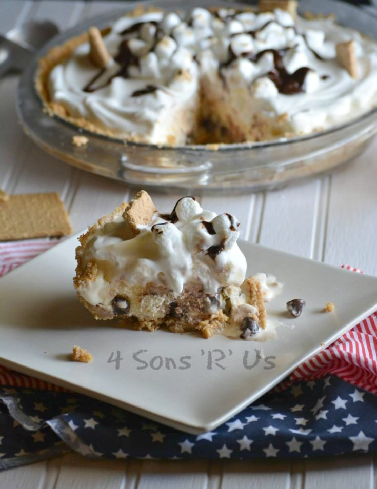 S'mores Ice Cream Pie