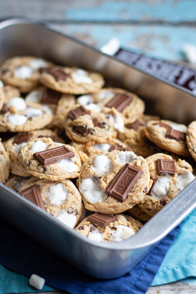 S'mores Chocolate Chip Cookies Recipe