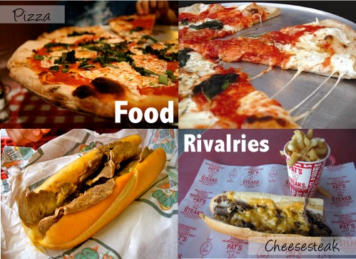 Legendary Food Rivalries -  NYC & Philly (1/6)