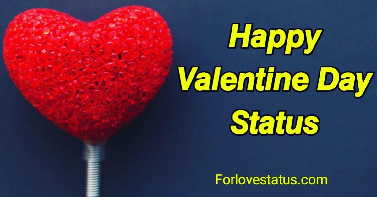 valentine days tatus
