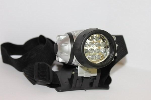 Фонарь налобный светодиодный DL-050 (ФН12с) 12 LED х 0,5 ...