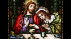 Juan recostado en Cristo