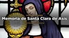 [Homilía Diaria] Santa Clara de Asís