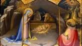 La mula y el buey junto a Jesús en el pesebre
