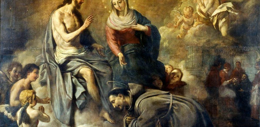 La Santísima Virgen es mediadora entre Dios y el pecador