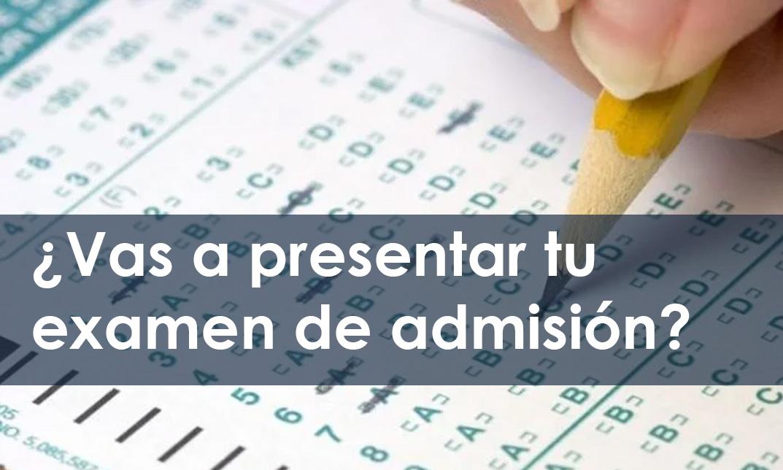 Si hoy fuera tu Examen de Admisión ¿Aprobarías?