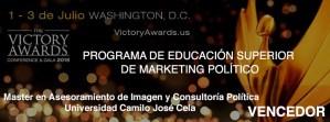 ganador Victory Awards 2015