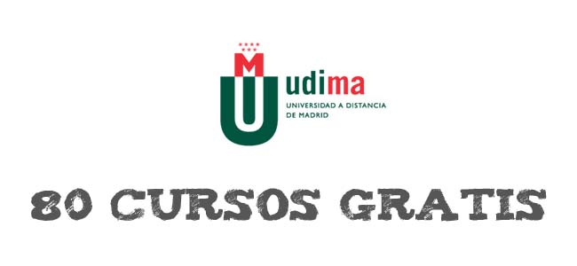 80 cursos gratis de verano online de la UDIMA