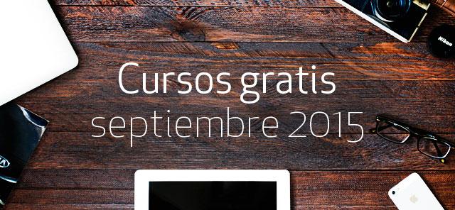 300 cursos gratis en septiembre de 2015