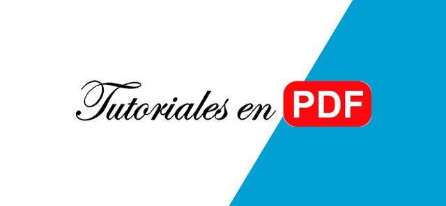 Tutoriales en PDF Gratis para Descargar