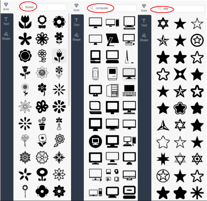 Iconos para logotipos gratuitos