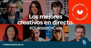 Domestika Live: Webinars Gratis de Diseño y Creatividad