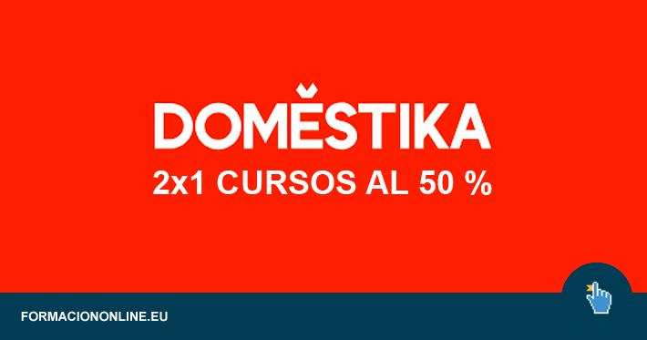 2x1 En Domestika. Consigue dos cursos al 50 % de Descuento