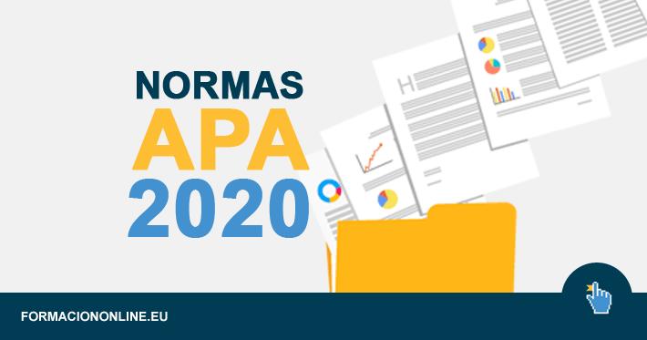 Normas APA, Manual 2020 en PDF
