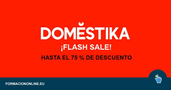 Flahs Sale de Domestika: Hasta el 75 % de Descuento!