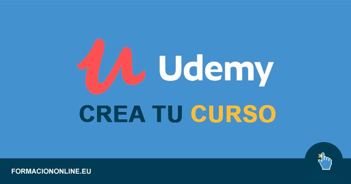 Crea tu primer curso en Udemy