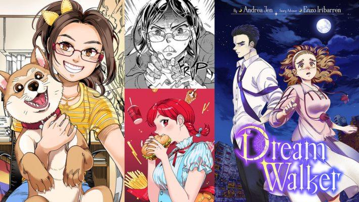 curso para aprender anime de Andrea Jen