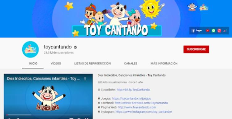 canal de YouTube de audiocuentos infantiles
