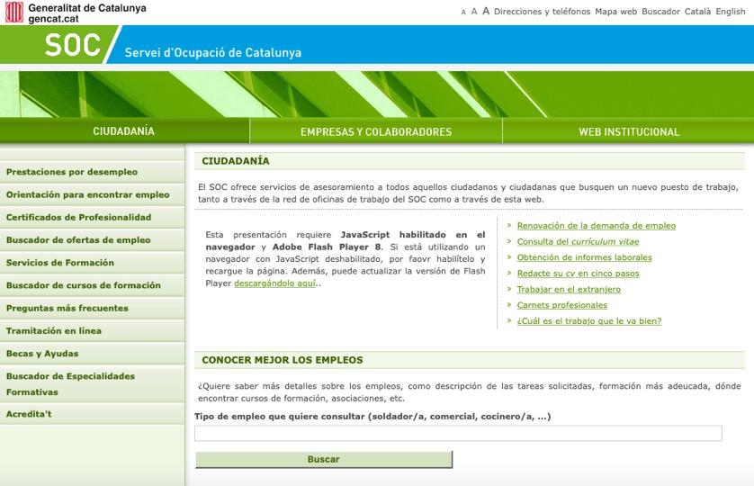 Cita Previa Sepe Barcelona La Info Para Desempelados De Barcelona