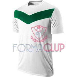 Y 2017 Victory GD Gold Beyaz/Yeşil Kısa Kol Halı Saha Forma ve Şort(TAKIM)