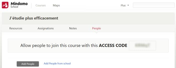 Donner accès aux premiers étudiants avec un code école
