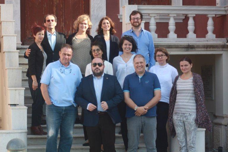Les partenaires du MOOC Dys rassemblés en Grèce pour la réunion de lancement